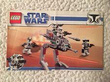 LEGO Star Wars 8014 Clone Walker Battle Instruction MANUAL ONLY. FREE SHIPPING