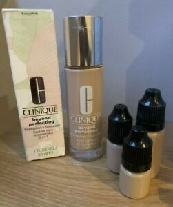 Clinique Beyond Perfection Foundation MakeUp 10ml Choose Your Shade