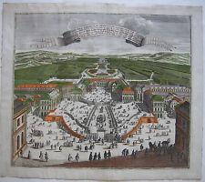 Versailles Château de Plaisance bel bambino Kol ORIG chiave RAME SEUTTER 1730