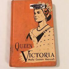 Queen Victoria by Molly Costain Haycraft Vintage Book Hardcover 1956 History