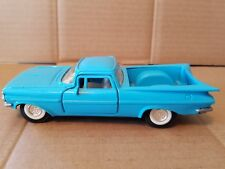 TootsieToy 1959 Chevy El Camino Teal 1/32 Scale Diecast