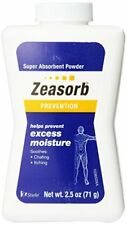 3 Pack Zeasorb Prevention Super Absorbent Powder Foot Care 2.5-Ounce Bottle Each