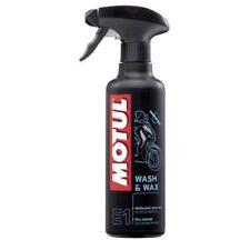 Motul E1 Wash & Wax Dry Cleaner & Protective Wax 400ml Trigger Spray 102996
