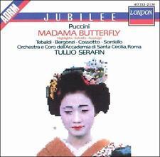 Madame Butterfly Puccini, Tebaldi, Bergonzi, Serafin Audio CD