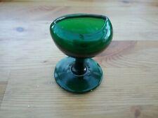 Vintage Green Glass Eyebath