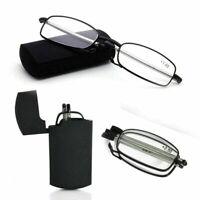 Fashion Portable Folding Reading Glasses Rotation Eyeglass +1.5 +2.0 +2.5 HOT~