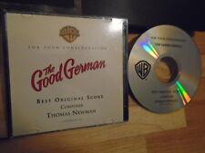 RARE PROMO The Good German CD soundtrack score Thomas Newman FOR CONSIDERATION !