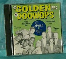 Doo Wop CD: Various - Golden Era Of Doo Wop - Apollo Records, Vol. 1 - Relic