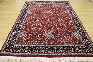 Persian Oriental Kashmir Hand Knotted Wool Rug Carpet Floor Room Decor 271x184