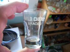 WILD CHERRY BRACER ACID ETCHED 1890S ERA MEDICINAL DOSE SHOT GLASS