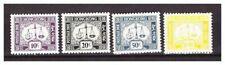s21059) HONG KONG  MNH** Nuovi** 1959 Postage Due - Tax 4v