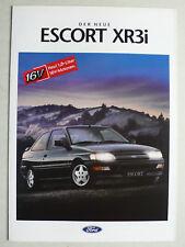 Prospectus FORD ESCORT XR 3i pour PREMIERE, 2.1992, 6 pages, folder