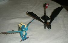 How to Train your Dragon Toothless and DEADLY NADDER STORMFLY Action Figures