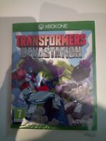 transfomers devastation xbox one neuf sous blister