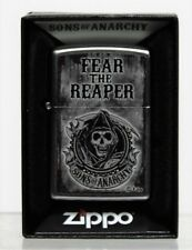 Zippo Feuerzeug Sons of Anarchy  Fear the Reaper  Neuware in original Box