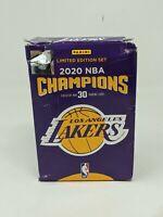 Limited Edition Panini LA Lakers 2020 Championship 30 Card Set Lebron AD