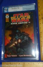 PGX 9.8 Star Wars Dark Empire II #2  (Graded-White Pages) 1995 Dark Horse Comic