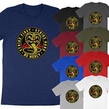 Adults & Kids Funny Graphic Tee Cobra Kai Cotton Karate Kid Unisex T-Shirt