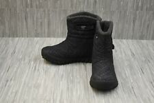 Bogs Kids Bmoc Fleck Waterproof Winter Boots, Big Girl's Size 4, Black NEW