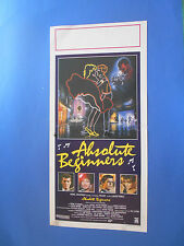LOCANDINA ABSOLUTE BENIGGERS EDDIE O' CONNELL PATSTY KENSIT A1