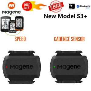 ANT+Bluetooth Bike Speed Cadence Dual Sensor For Garmini210 Edge bryton Gps 2021