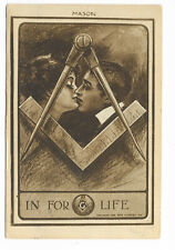 Mason:  In for Life; 1910 to San Francisco