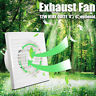 """MECO 4"""" 6'' Wall/Ceiling Silent Fan Extractor Ventilation For Bathroom Kitchen"""