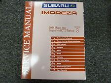 2004 Subaru Impreza Section 3 Engine H4 DOTC Turbo Shop Service Repair Manual
