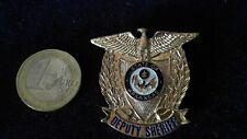 Badge Anstecker Sheriff Police Stern Arkansas Deputy Sheriff USA Polizei Brosche