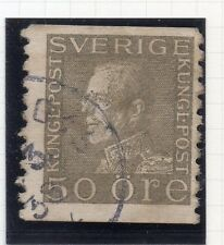 Sweden 1921-38 Early Issue Fine Used 50ore. 026753