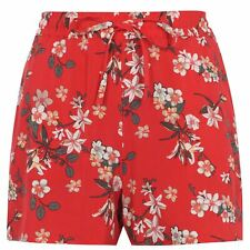Vero Moda Woven Shorts Ladies Pants Trousers Bottoms Lightweight Stamp