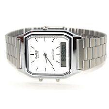 Casio Mens Classic Combi Timer Stopwatch Dual Time Watch AQ230A-7DMQ New