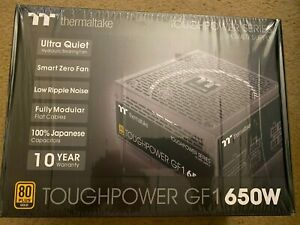 Thermaltake Toughpower GF1 650W 80+ Gold Full Modular Power Supply