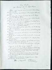 1926 - Litografia Poesia di Paul Claudel (1915) dedicato ai morti della la WW1