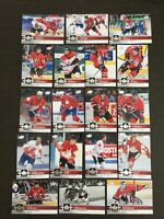 Variations Auction**2017-18 UD Team Canada Singles + Inserts**SELECT FROM LIST