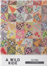 A Wild Ride - modern pieced quilt PATTERN - Jen Kingwell Design Collective