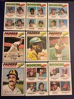 1977 Topps SAN DIEGO PADRES Complete Team Set (32) Master Set DAWSON RC ! LOOK !