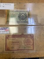 Lebanon Banknote P38 And 42 25. 5 Piastres 1944, Price For Both