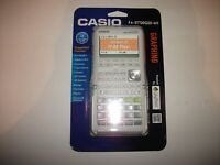 New in Package Casio fx-9750GIII-we Graphing Calculator USB Power Graphic 3