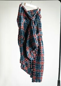 Vivienne Westwood Gold Label Tartan Skirt Size 10 Extremely Rare