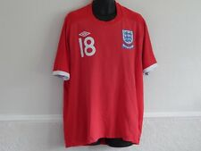 ENGLAND 2010 WORLD CUP FOOTBALL AWAY SHIRT JERSEY JAMIE CARRAGHER 18 MEN 3XL 50""