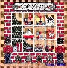 "Mill Hill Buttons Beads Counted Cross Stitch Kit 5"" x 5"" ~ TOY SHOP Sale #75"