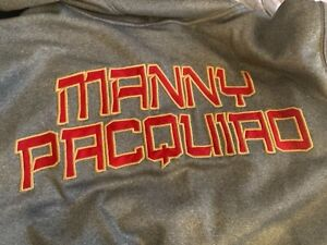 NIKE MANNY PACQUIAO XL THERMA FIT ZIP UP MEN'S HOODIE JACKET  RARE!