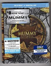 The Mummy: Ultimate Collection Steelbook (Blu-ray) only at Best Buy