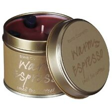 Bomb Cosmetics Tinned Candle - Warm Espresso Scented Candle. Home Fragraance