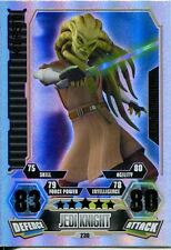 Star Wars Force Attax Series 3 Card #230 Kit Fisto