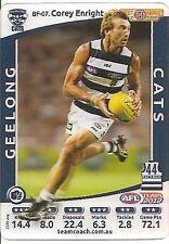 2012 TeamCoach Geelong Best & Fairest Corey Enright Team Coach BF 07