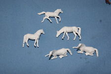 Preiser Set Horses HO