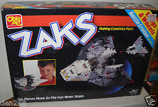 #4528 NRFB Vintage Ohio Art Zaks Battle Cruiser Building Set