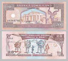 Somalilandia 20 shilin 1994 p3a unz.